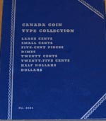a%20Canada%20Coin%20Type%20Collection%20blue%20cardboard%20coin%20album