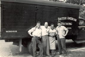 Photo%20of%20a%20British%20American%20Brewing%20Company%20truck%20and%20four%20men%20posed%20in%20front